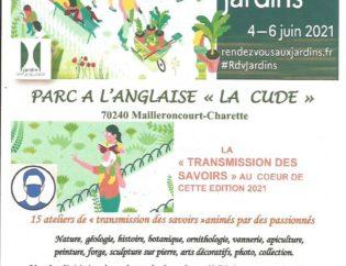 TRANSMISSION DES SAVOIRS 4-5-6 JUIN 2021